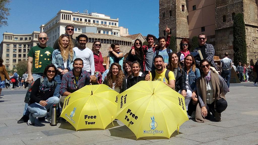 Free Tour en Barcelona de la mano de DonkeyTours.es