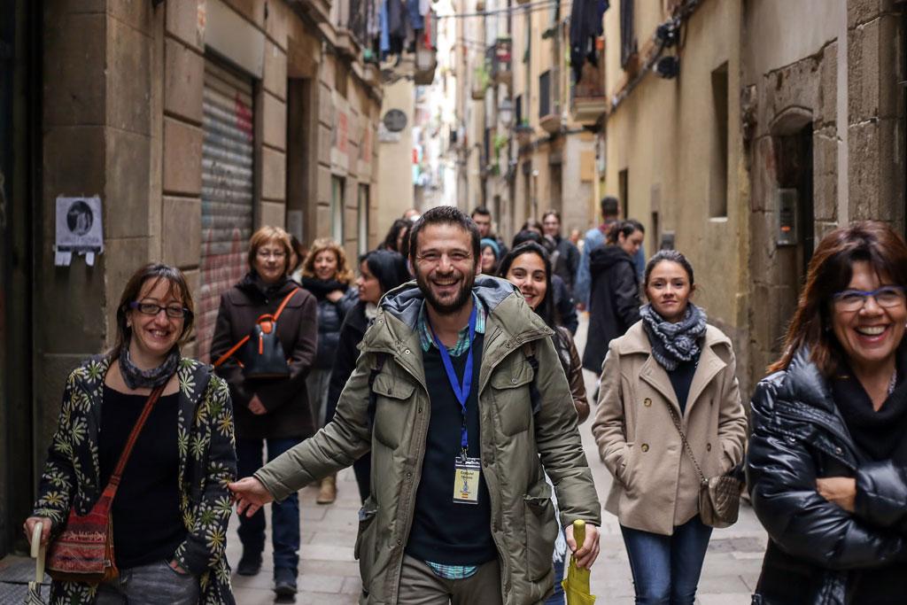 Guía turístico en Barcelona