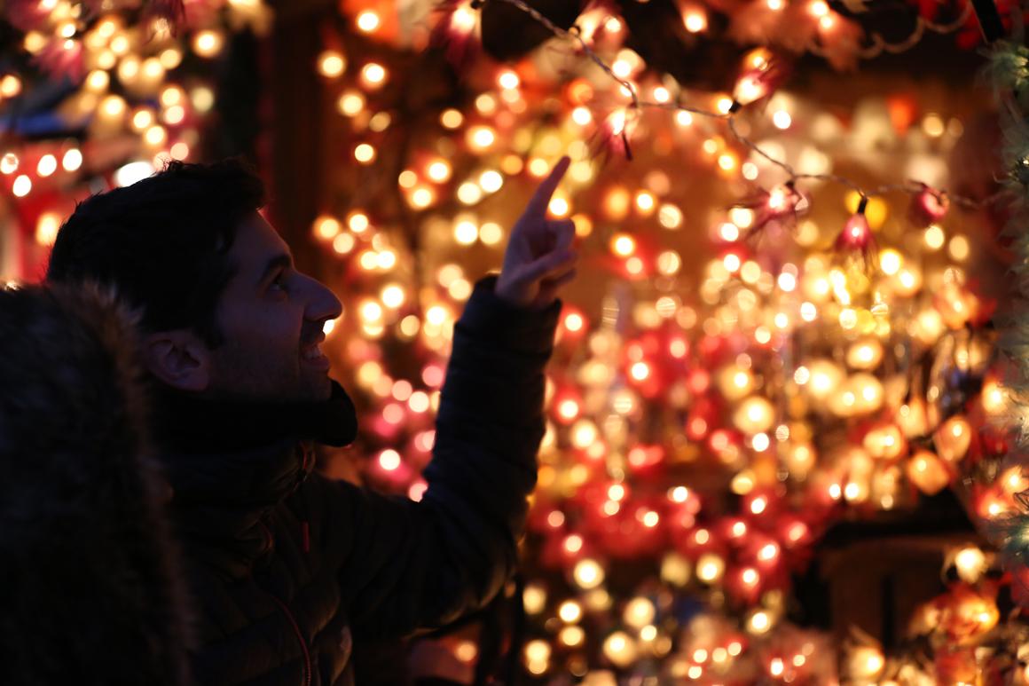 Mercado navideño en Colmar