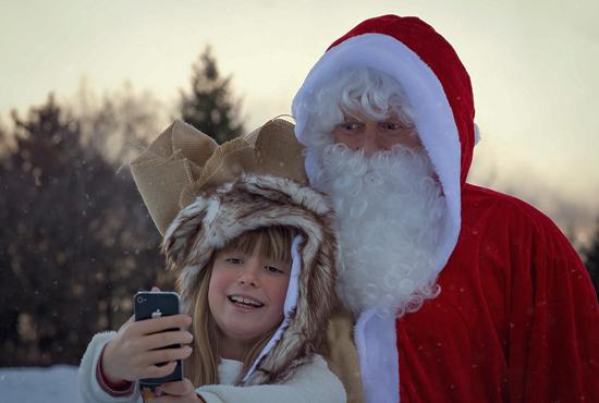 Un viaje mágico en trineo a la casa de Santa Claus