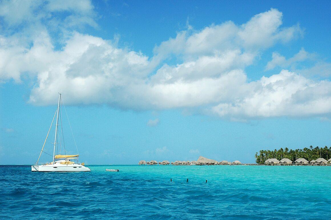 Polinesia francesa en barco