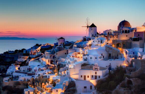 Atenas y Santorini