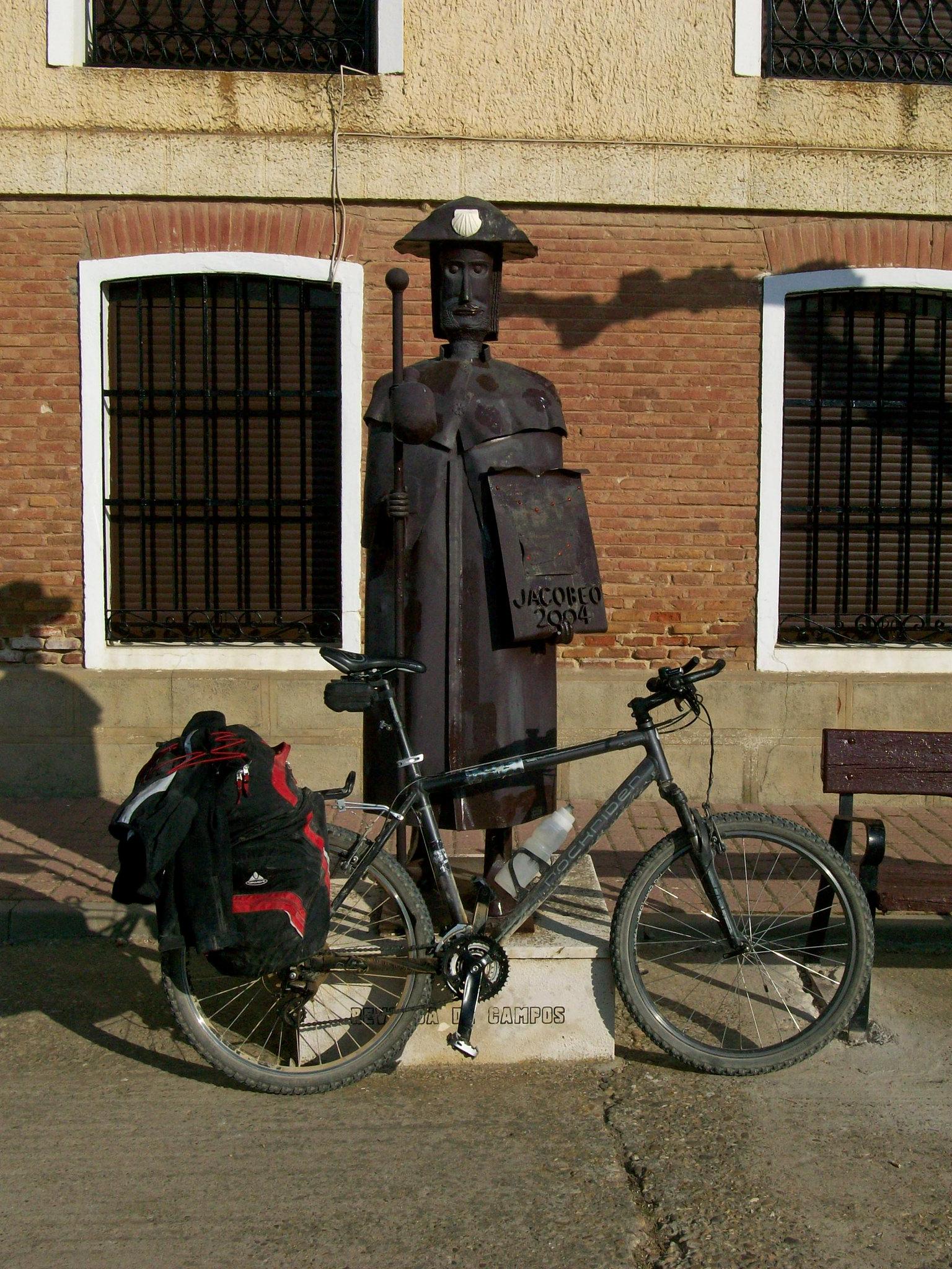 camino francés en bici
