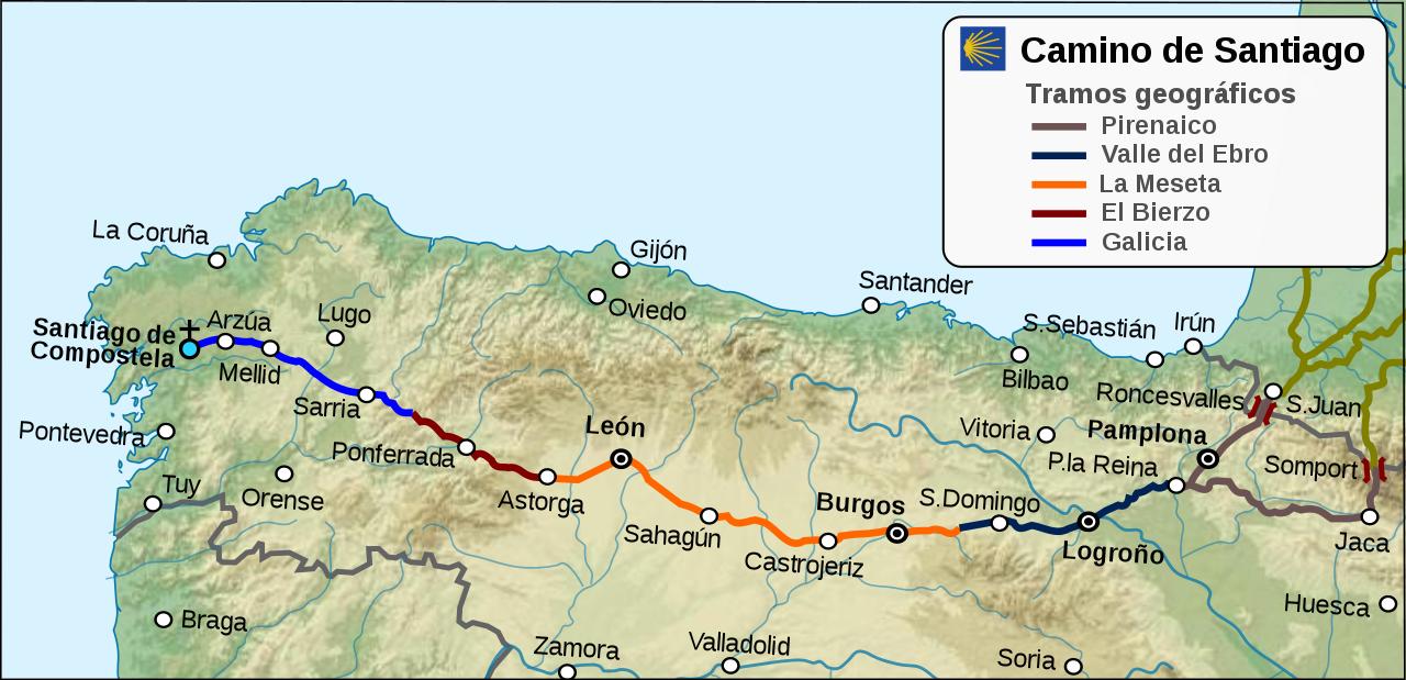 camino francés desde roncesvalles