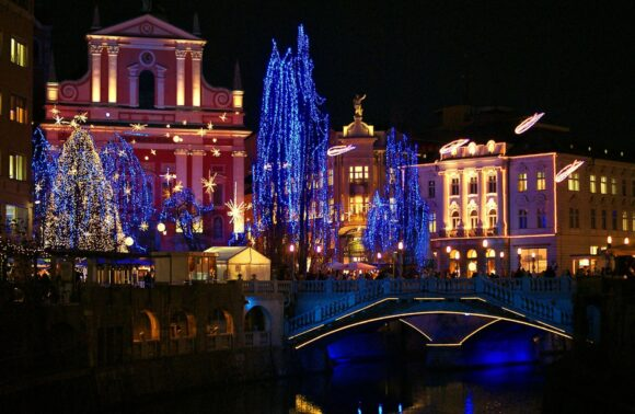 Puente en Eslovenia, salida 5 Diciembre