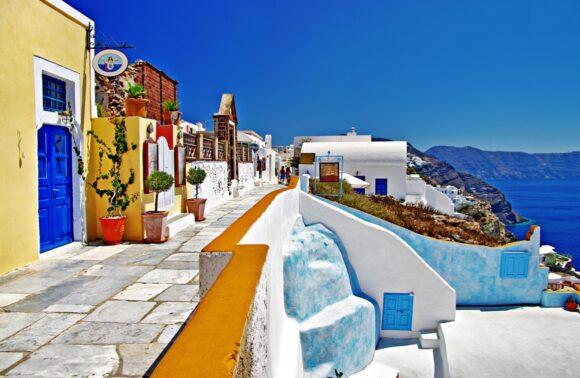 Atenas, Mykonos y Santorini