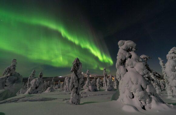 Fin de Año con Papá Noel y Aurora Boreal en Rovaniemi