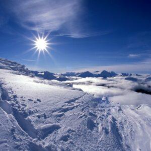 Invierno en las Rocosas